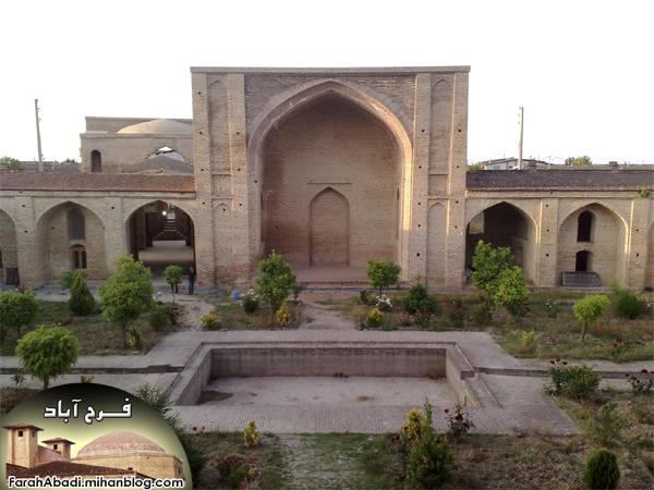 شهر تاریخی گردشگری فرح آباد - مسجد شاه عباسی